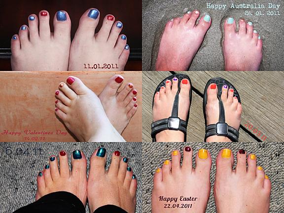 Feet Collagejkhkjk