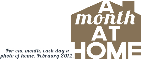 A Month at Home logo