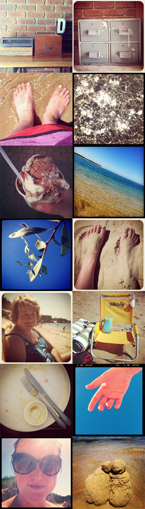 Inverloch Beach collage blog