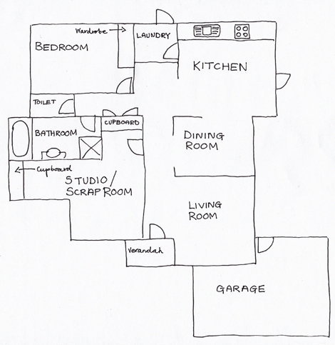 Surprising How To Draw A House Plan By Hand Contemporary - Best