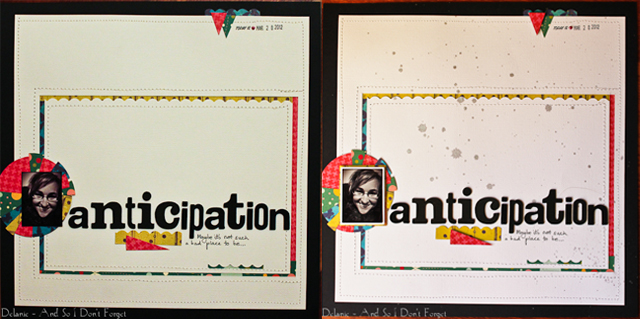 Anticipation collage