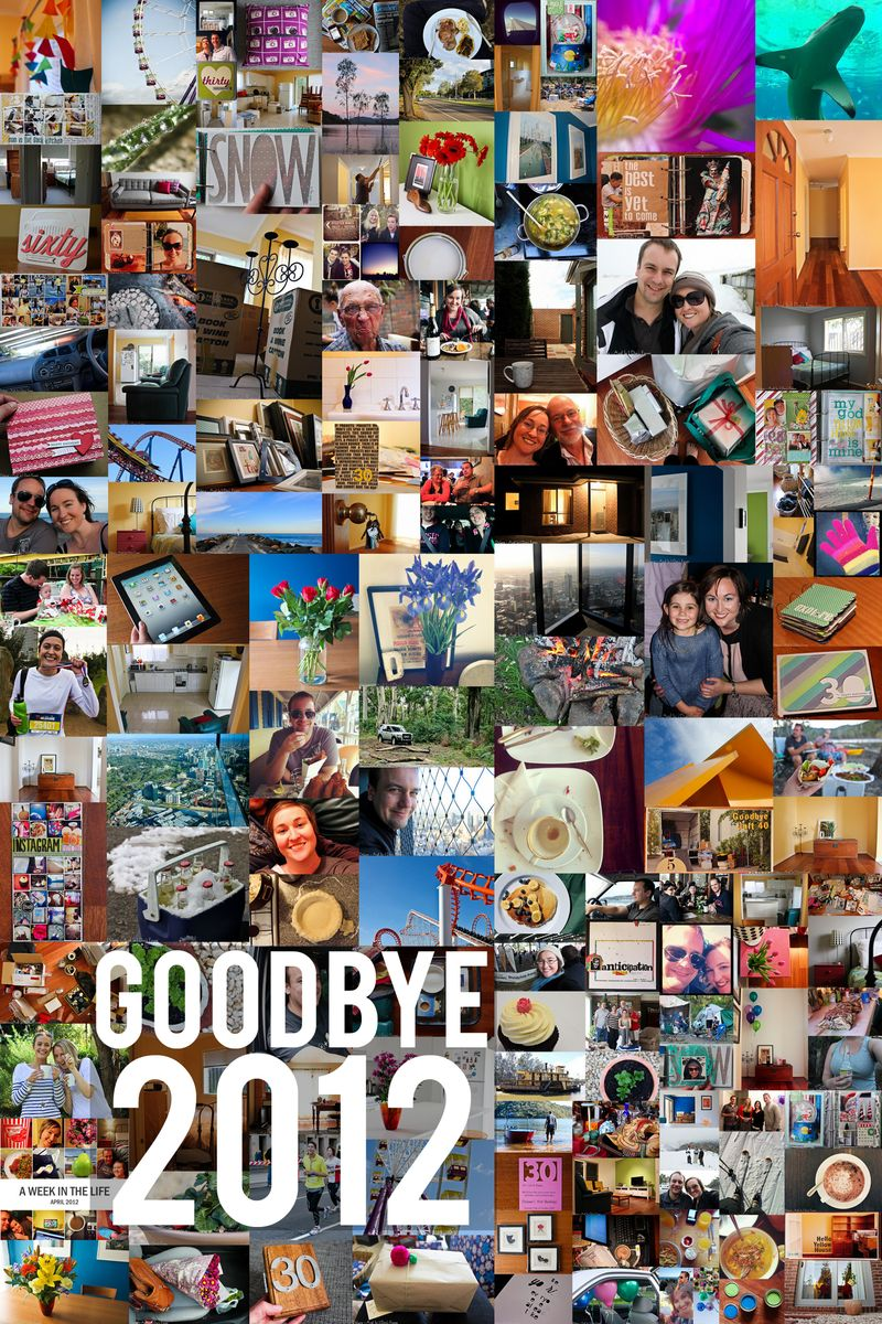 Goodbye 2012 Collage