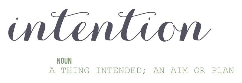 01 Intentions Wordart
