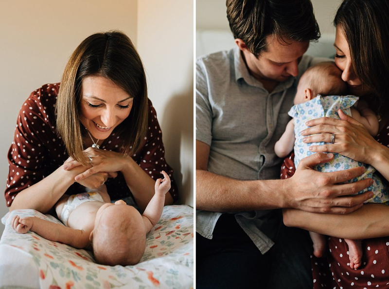3 month old baby girl at home with parents-31